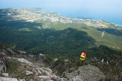 Seilweise in Jalta lizenzfreies stockfoto