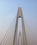 Seilzug-gebliebene Brücke Lizenzfreie Stockfotos