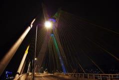 Seilzug-gebliebene Brücke Lizenzfreies Stockbild