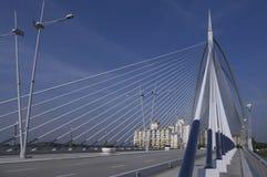 Seilzug-gebliebene Seri Wawasan Brücke Stockfotografie