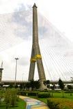 Seilzugbrücke in Bangkok Thailand Stockbild