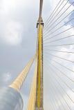 Seilzugbrücke in Bangkok Thailand Stockfotos