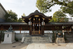 Seimei Shrine in Kyoto, Japan. The Seimei Shrine was founded on the 4th year of the Kanko era 1007 by Emperor Ichijo Stock Photo