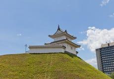 Seimeidai wieżyczka Utsunomiya kasztel, Tochigi prefektura, Japonia Zdjęcie Stock
