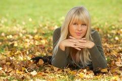 Sein Herbst! Stockbilder