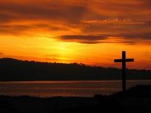 Sein Kreuz Stockbild