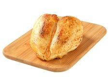 Sein rôti de poulet Photo libre de droits