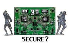 Sein SIE sicheres online? Lizenzfreie Stockfotos