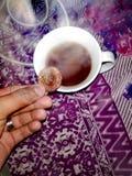 Sein Tee! stockbilder