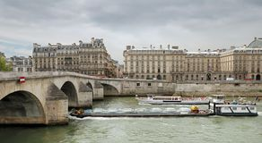 Seine. Royalty Free Stock Photography