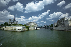 The Seine Royalty Free Stock Image