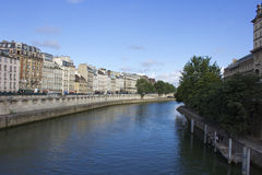 The Seine Royalty Free Stock Photo