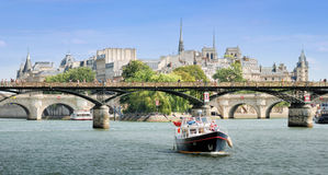 Seine. Royalty Free Stock Images