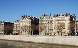 Seine Apartments Stock Photo