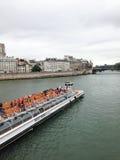 Seine boat tour Royalty Free Stock Photo