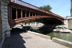 Seine Bridge Royalty Free Stock Images