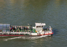 On a Seine Cruise Royalty Free Stock Images