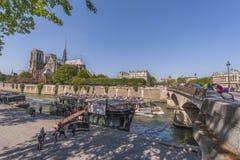On Seine Cruise Royalty Free Stock Image