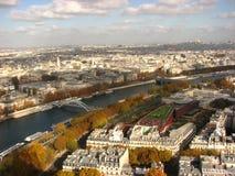 Seine em Paris fotos de stock royalty free