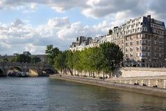 Seine embankment. Stock Images