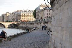 Seine embankment. Stock Image