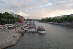 Seine embankment. Stock Photography