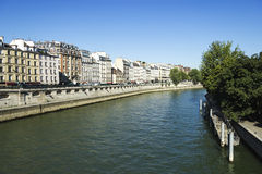 Seine embankment, Paris, France Stock Photography