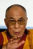 Seine Heiligkeit Dalai Lama stockbilder