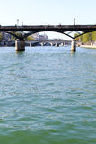 Seine, Paris. Stock Photo