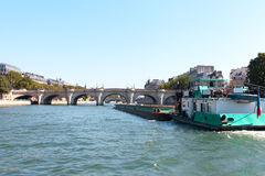 Seine, Paris. Royalty Free Stock Photos