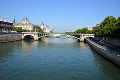 The Seine Royalty Free Stock Photos