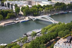 Seine in Paris Royalty Free Stock Images