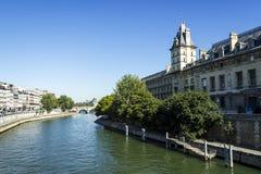 Seine, Paris, France. Bridge over Seine, Paris, France Stock Images