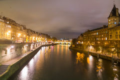 Seine,Paris,France Royalty Free Stock Photo