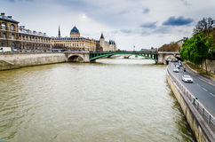 Seine, Paris Stock Photo