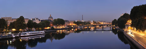Seine and Pont des Arts Stock Photography