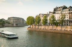 Seine Quay. Paris Royalty Free Stock Images