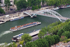 Seine river Royalty Free Stock Photo