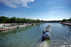 Seine river Stock Photography