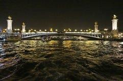 Seine River Bridge Stock Photo