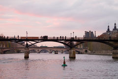 Seine River at Dawn Royalty Free Stock Photography