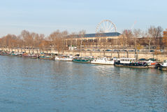 Seine River Stock Photo