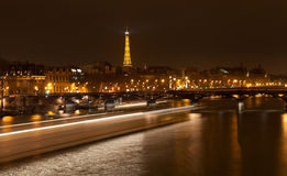 Pont des Arts em Paris Fotos de Stock Royalty Free