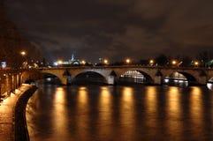 Seine river et pont des arts Stock Image