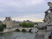 Seine river Royalty Free Stock Photography