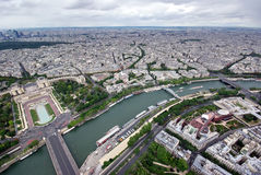 Seine river in Paris Royalty Free Stock Photos