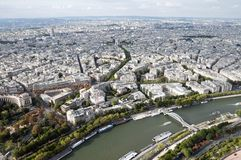 Seine river in Paris Royalty Free Stock Photography