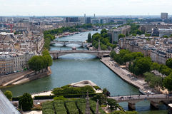 Seine river in Paris Stock Images