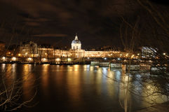 Seine river in Paris, with Stock Image