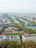 Seine River Paris Arkivfoton